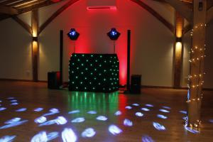 Mobile Disco with Lights in Tamworth